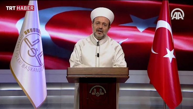 TRT Haber 'Paralel yapı en büyük ihaneti İslam'a etmiştir' Diyanet işler...