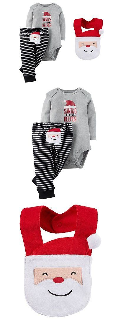 Outfits and Sets 163427: Carters Unisex Baby Boys Girls Santas Little Helper Bodysuit And Pants Set With -> BUY IT NOW ONLY: $54.74 on eBay!