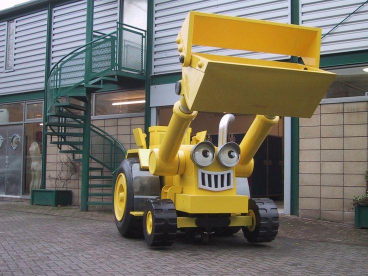 Bob The Builder Live Scoop Vehicle Bob The Builder