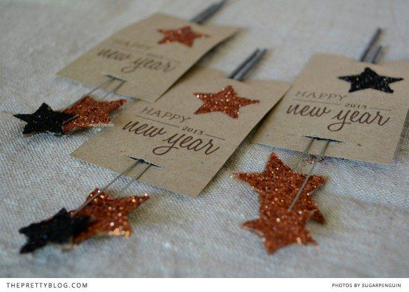New Year Sparkle {DIY}