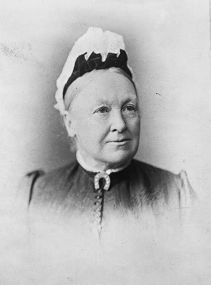 South Australian suffragette Catherine Helen Spence (1825-1910). South Australian women achieved the right to vote and stand for parliament in 1895.