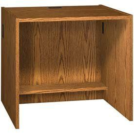 """36"""" X 32"""" Desk Shell - 36""""W X 30-1/8""""D X 32-1/8""""H Medium Oak by IRONWOOD MANUFACTURING INC. $320.95. GLACIER CIRCULATION FURNITURE 36""""W Desk Shell Glacier circulation furniture is great for libraries, school libraries, mail rooms, circulation rooms and more. This selection of circulation furniture is ideal for storing, collection and recirculation of books, magazines, mail and much more. Each unit can be used alone as a freestanding component or placed alongside one another to c..."""