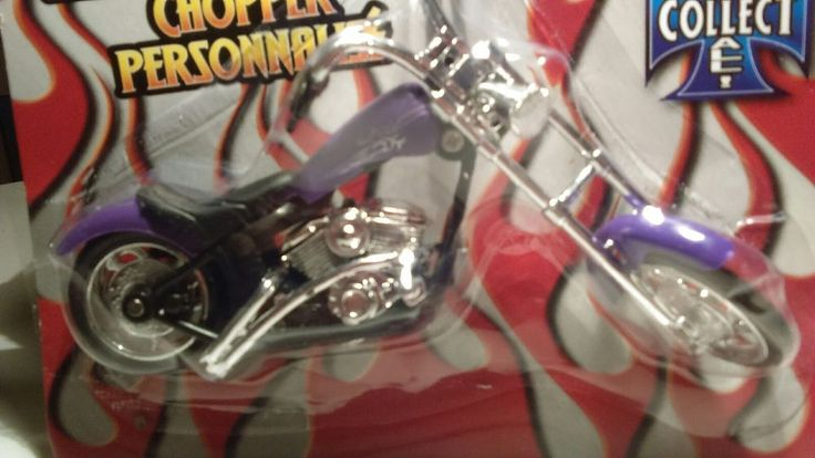 Custom Chopper Miniature purple chopperToy blue chopper Motorcycle  Ages 4+ New #GreenbriarInternationalInc #Chopper