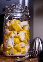 Preserved lemons and citrus