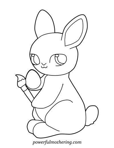 1000 ideas about Bunny Coloring