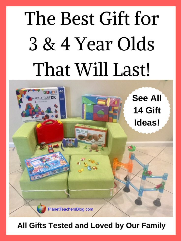 The best gifts for 3 year olds and 4 year olds that will get so much use and really last. Here is a gift guide of 14 gifts that our family adores! Great gifts for holiday and birthdays for three year olds and four year olds.