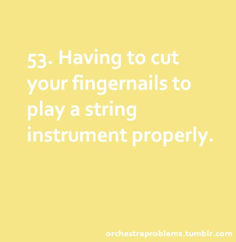 Not really a problem with me, since I've never cared much for having long nails. The price a guitarist has to pay...