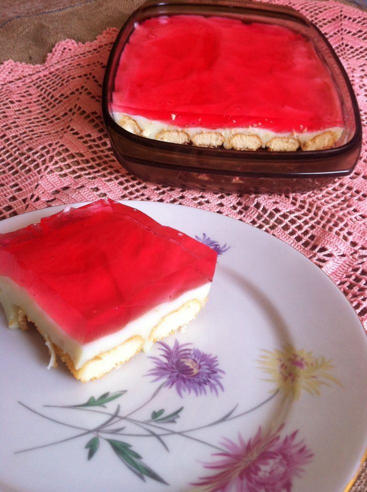 Αγάπα Με Αν Dolmas: Γλυκό Ψυγείου με Ζελέ / Creammy Jello Dessert