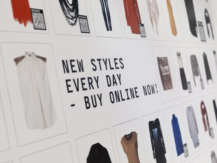 Using retail and digital technology in a pop up environment