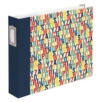 The simple but colorful Azure Designer Album