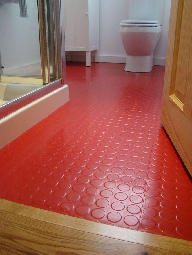 Rubber Floor Tiles, Is Rubber Flooring Good For Bathrooms