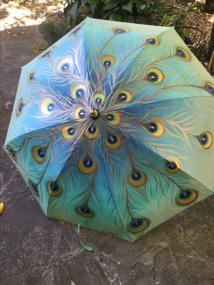 Paraguas pintado a mano by SorMed
