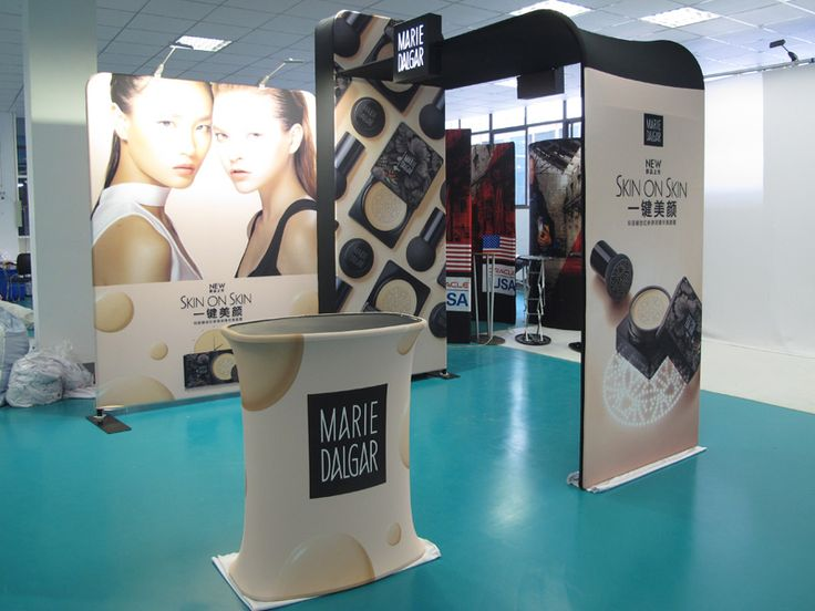 Exhibition Booth Price : Portable trade show booth mas features hot sale