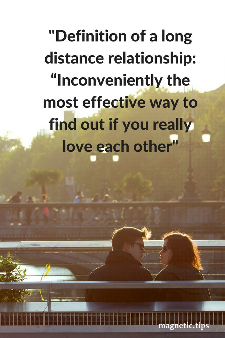 If you love each other distance won't matter as you'll make it work. Read my blog post to discover how to make long distance relationships work.