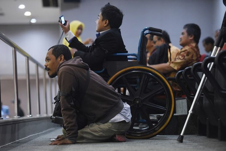 Penyandang Disable yang Pantang Menyerah - http://tokoh.co.id/penyandang-disable-yang-pantang-menyerah/