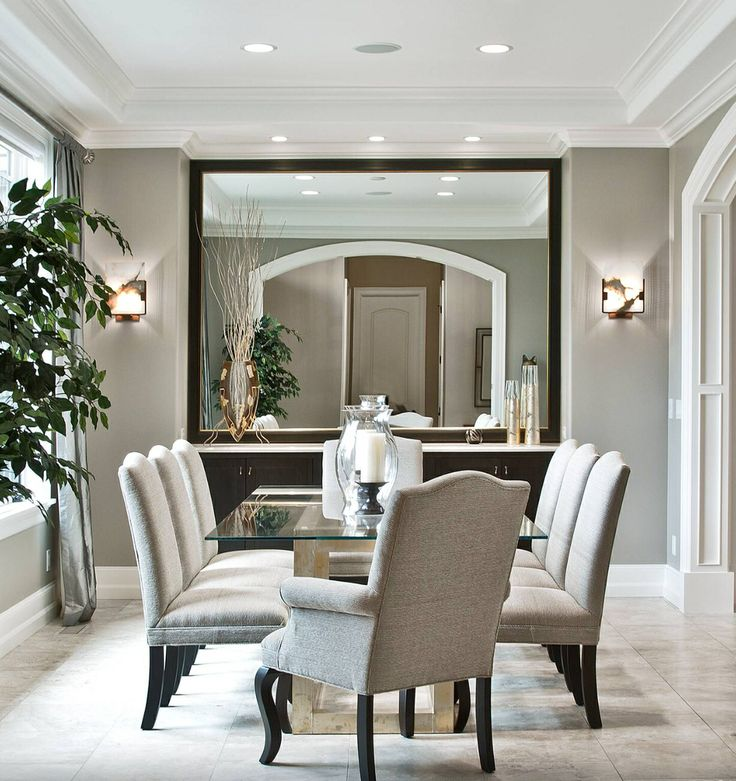 SW Dorian Gray: Transitional Zen By Design Guild Homes Transitional Dining  Room