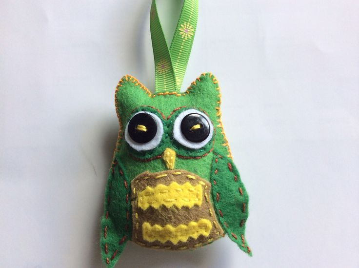 Green owl - a graduation gift