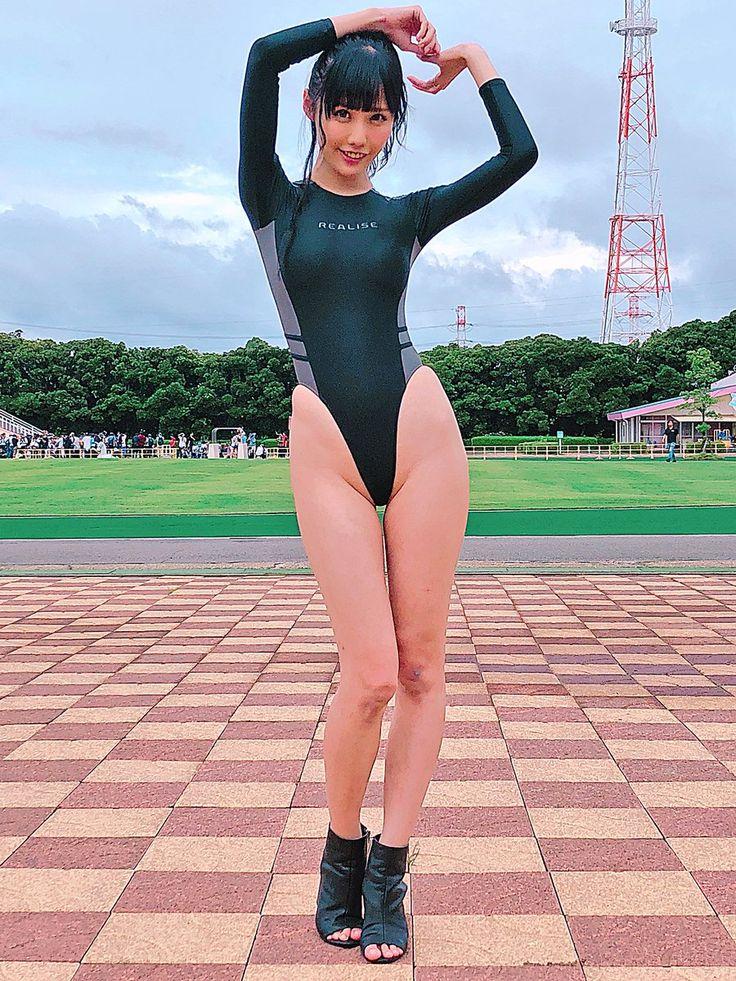 稲森美優🥳競泳水着の人(誕生月画像祭り) on【2020】 | ハイレグ レースクィーン、ハイレグ 水着、水着