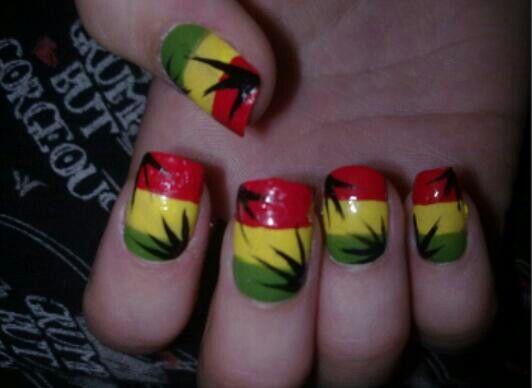 I like · Jamaica NailsTropical Nail DesignsRasta ... - 62 Best Rasta Nails Images On Pinterest Belle Nails, Cute Nails