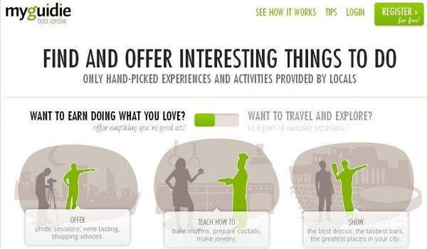 MyGuidie - Experiencias de viajes organizadas por negocios locales