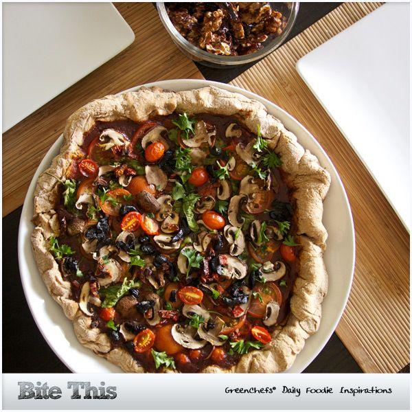 Whole Grain Spelt Pizza Crust