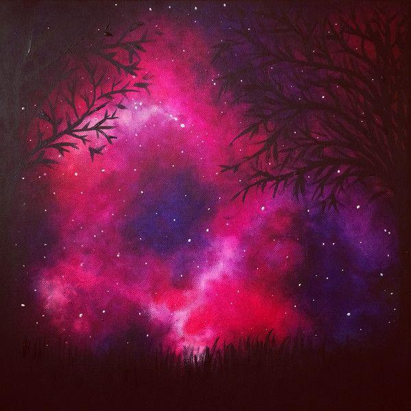 Sternennacht+von+Lilli+und+Sari+auf+DaWanda.com