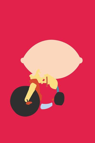 Family Guy - Stewie Griffin Art Print