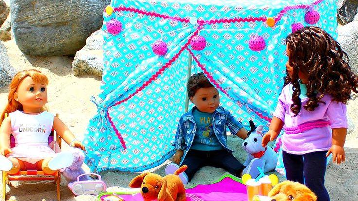 DIY American Girl Doll Cabana
