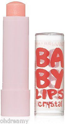 Maybelline New York Baby Lips Crystal Lip Balm, Crystal Kiss, 0.15 Ounce