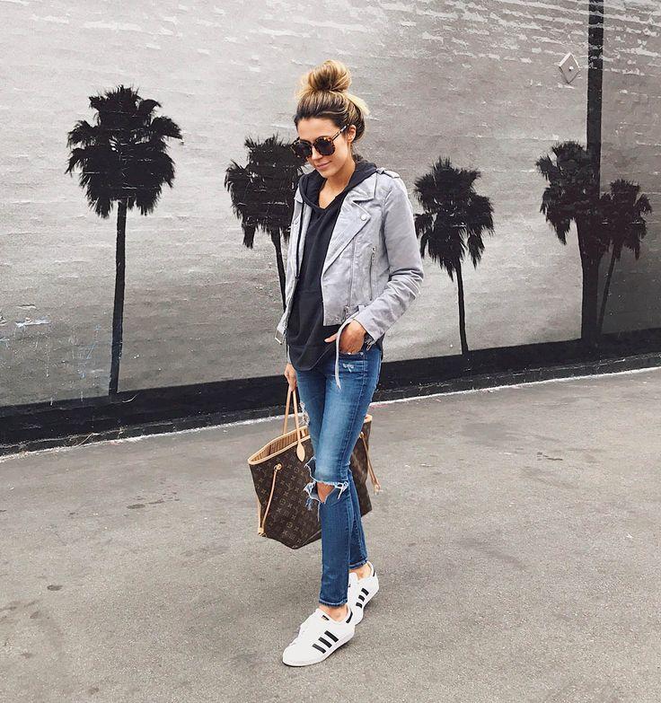 HelloFashionBlog: Grey Suede Blazer