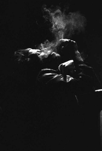 Tom Waits - I love the shadow and the smoke, everything about this shot