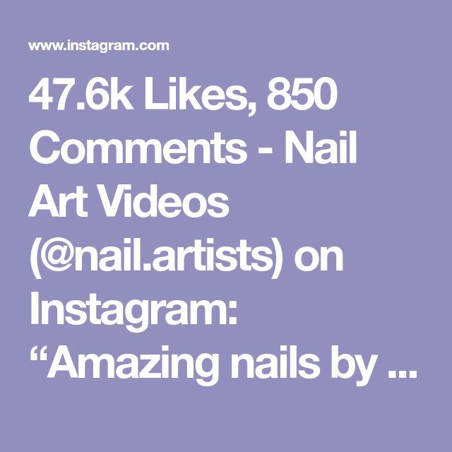 Diy Nail Ideas Doc Martens Nail Art And More Of Our: Nail Art Videos (@nail.artists