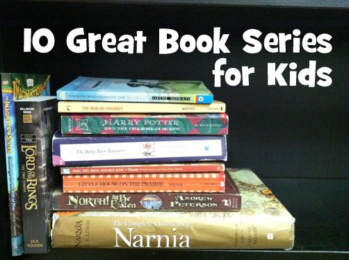 10 great book series for kids