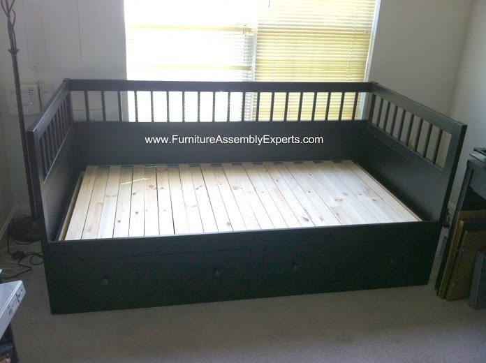 Ikea hemnes daybed assembled in fall church va by for Will ikea assemble furniture