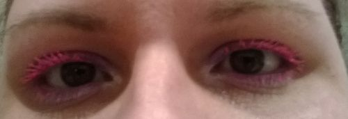 pink mascara and urban decay asphyxia (12)a