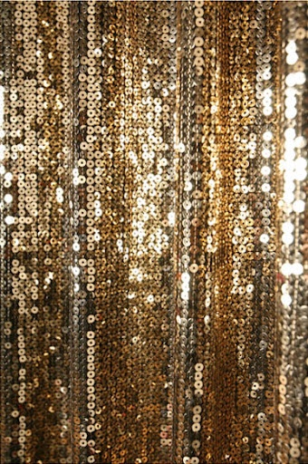 Details About Gold Sequins Beaded Curtain Drapery Panel