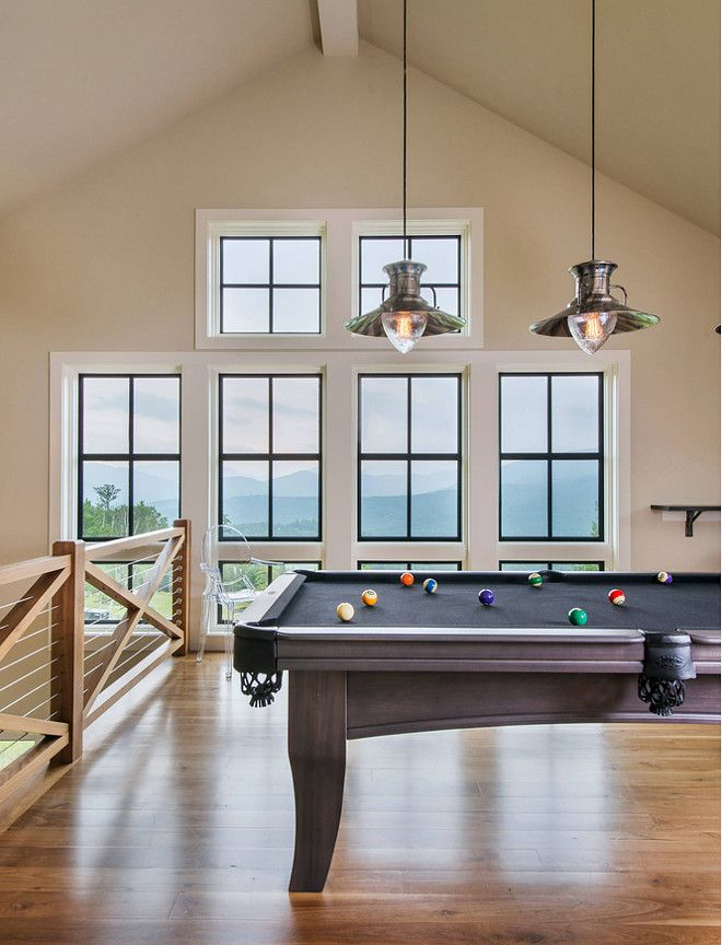 games room lighting. games room with billiard table lighting over made by