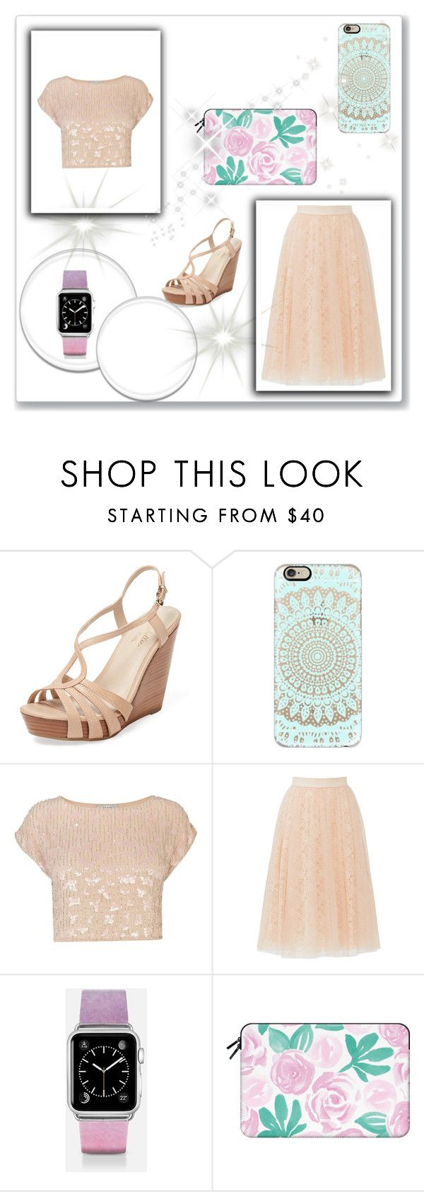 """""""Casetify"""" by elmat ❤ liked on Polyvore featuring Seychelles, Casetify, Coast and Bailey 44"""
