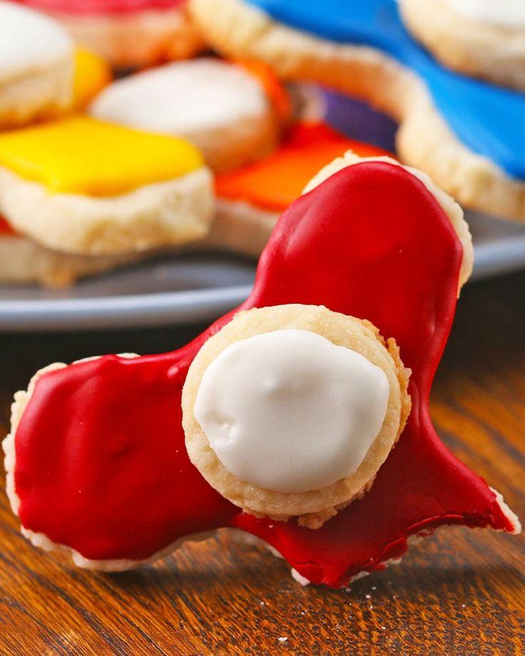 Back diese Fidget-Spinner-Kekse, die sind genauso sinnlos, aber immerhin lecker