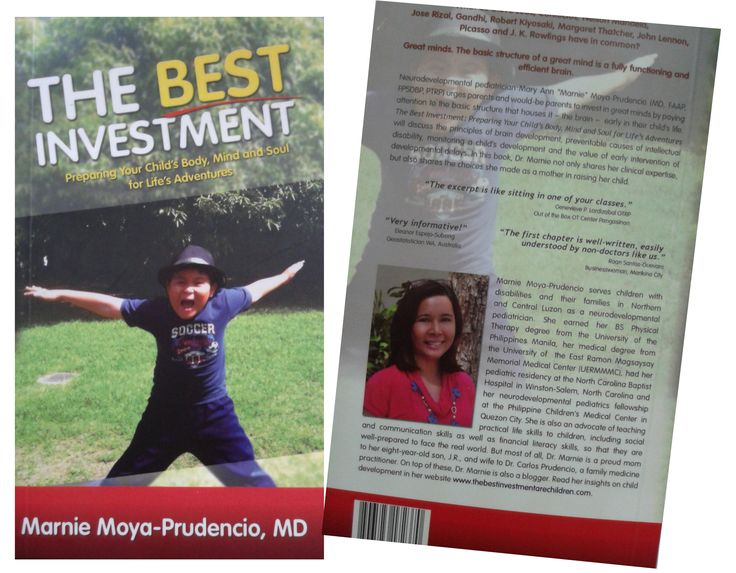 The Best Investment Preparing Your Child's Body, Mind and Soul for Life's Adventures by Marnie Moya-Prudencio, MD.   Order this item at: https://autismall.myshopify.com/products/book-the-best-investment