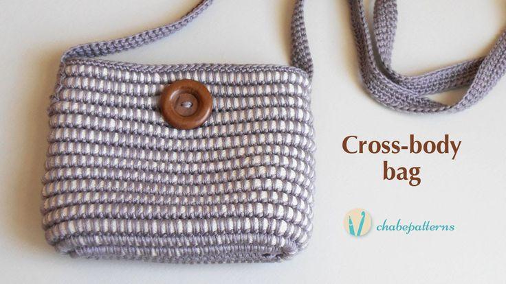 Cross-body bag, video tutorial