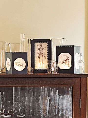 Halloween Decorating Ideas Elegant, Gothic Crafts Home Decor