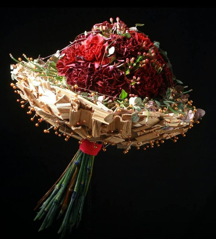 Bouquet design by Pascal Phaner, France