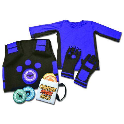 Wild Kratts Creature Power Suits With 5 Animal Discs Vest