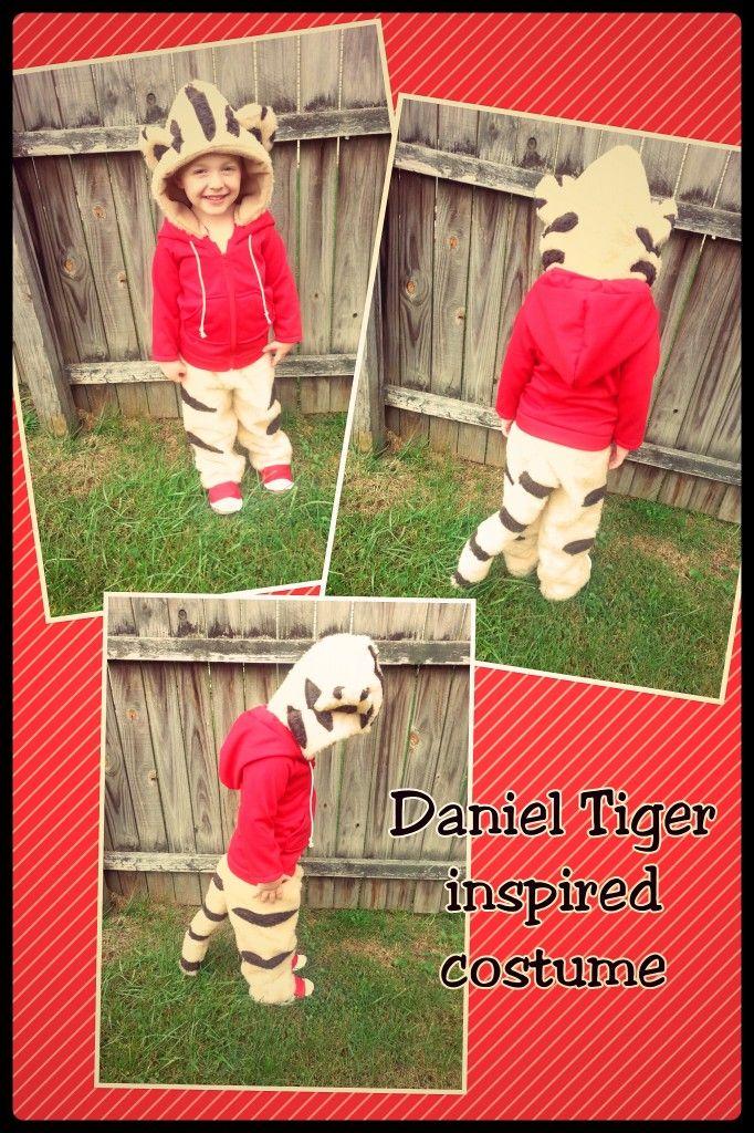 DIY Daniel Tiger Costume