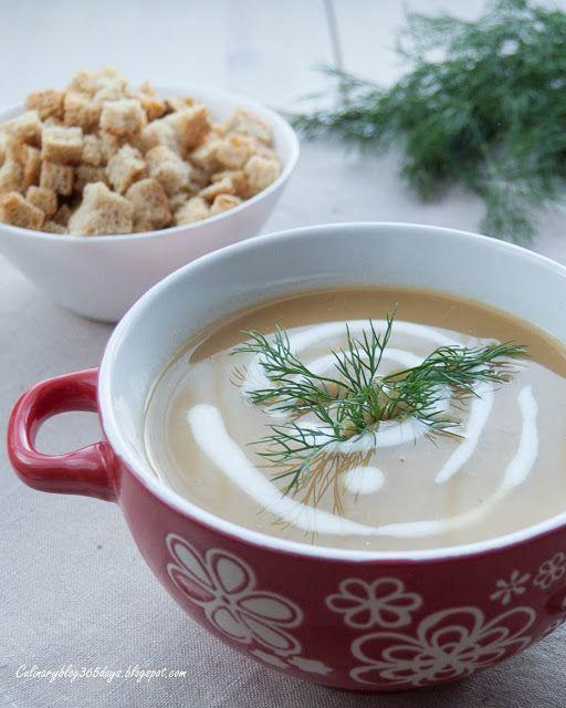 Кулинарный блог 365 дней: Суп-пюре с чечевицей