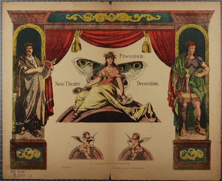 Procenium. Neue Theater-Decoration. No. 8709.