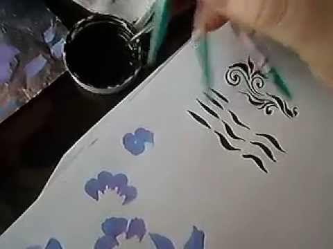 учимся рисовать2 - YouTube