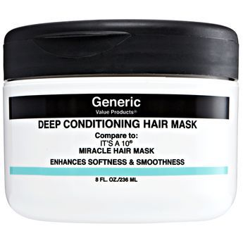 Sally Beauty GVP Deep Conditioning Hair Mask - Compare to It's a 10 Miracle Hair Mask