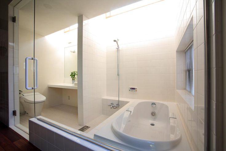 バス/トイレ事例:バスルーム(竹林風洞)